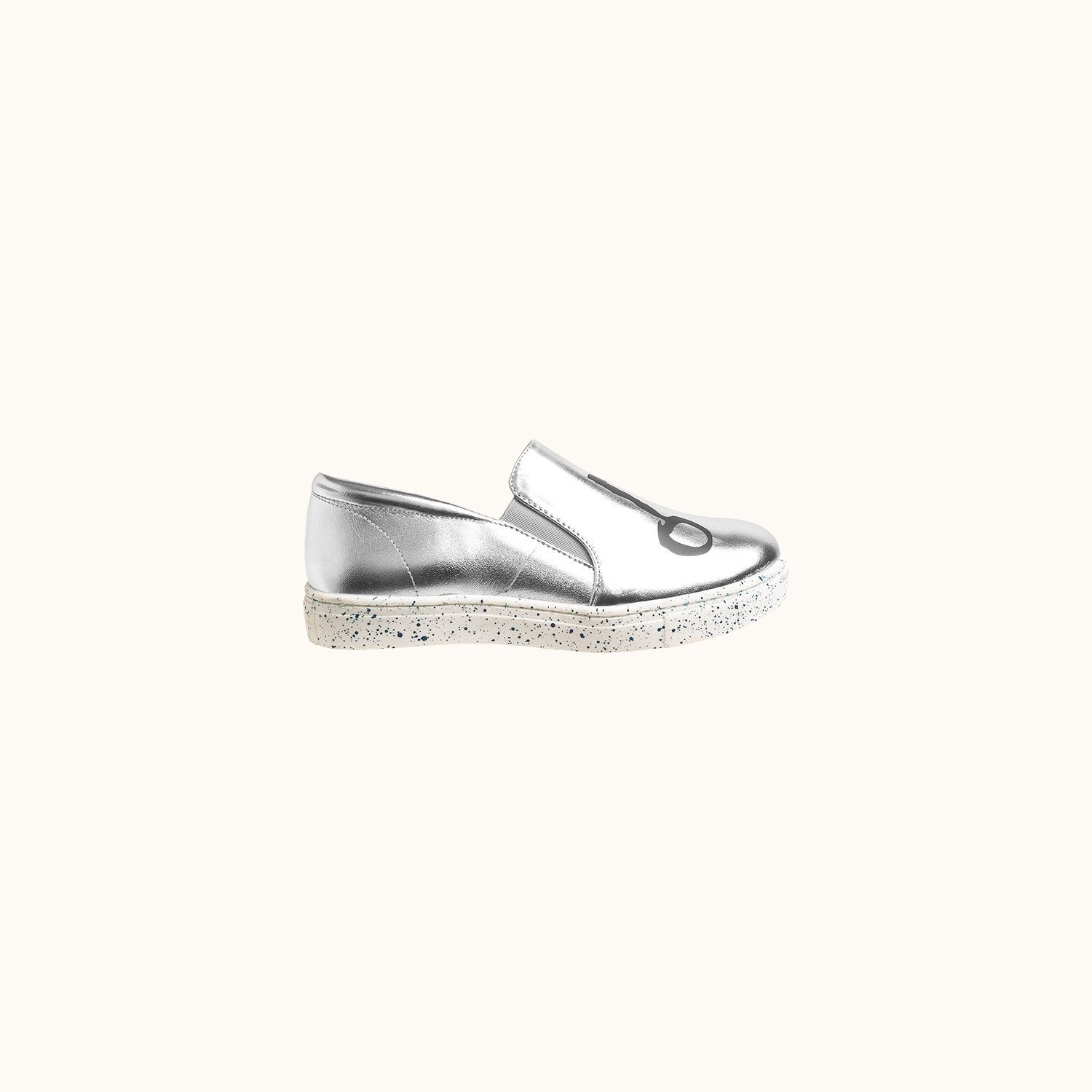 Happy shoes Silver