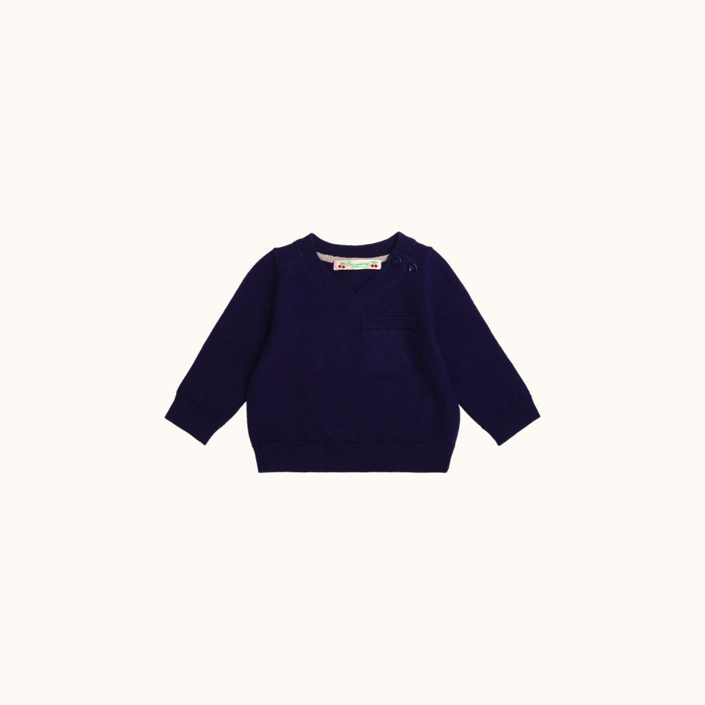 Babies' sweater Indigo