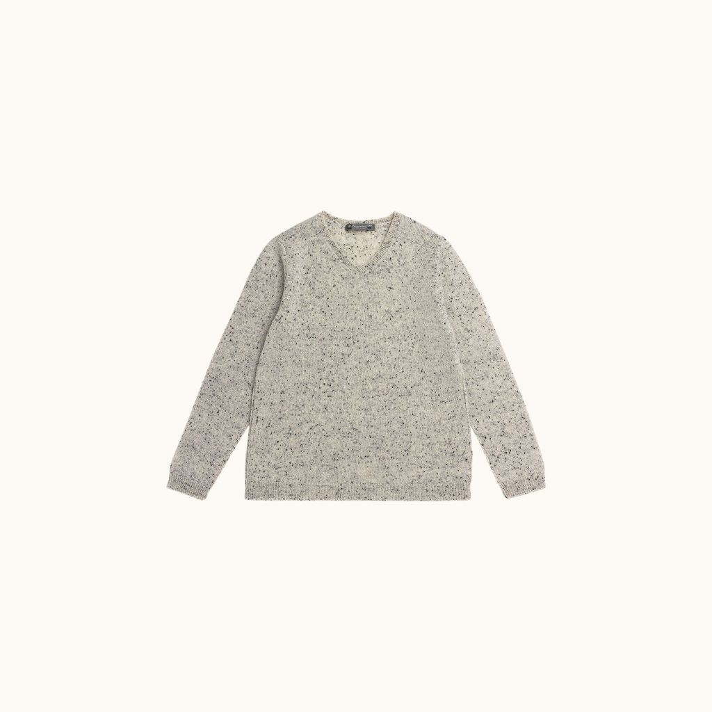 Sweater heathered alabaster