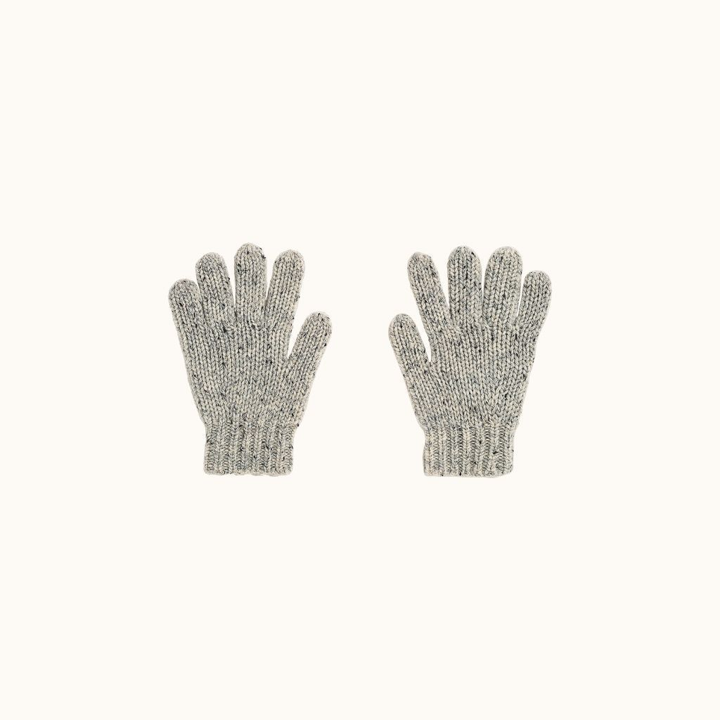 Gloves Heathered alabaster