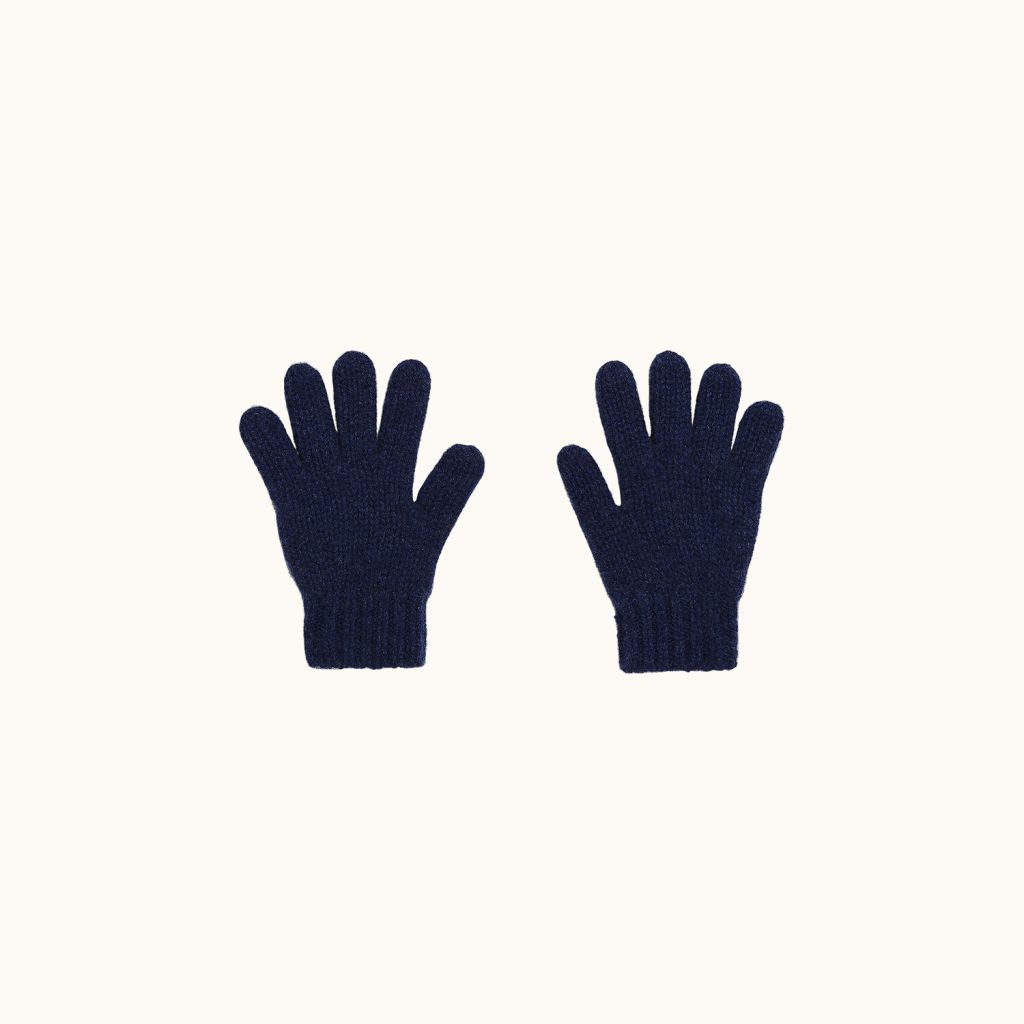 Gloves indigo