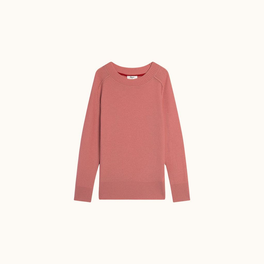 Cashmere sweater medium pink