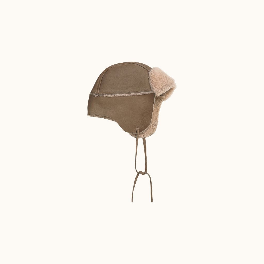 Aviator hat Mole grey