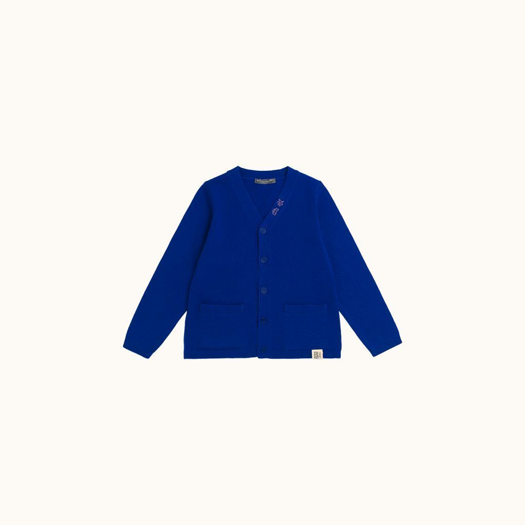 Cardigan Electric blue