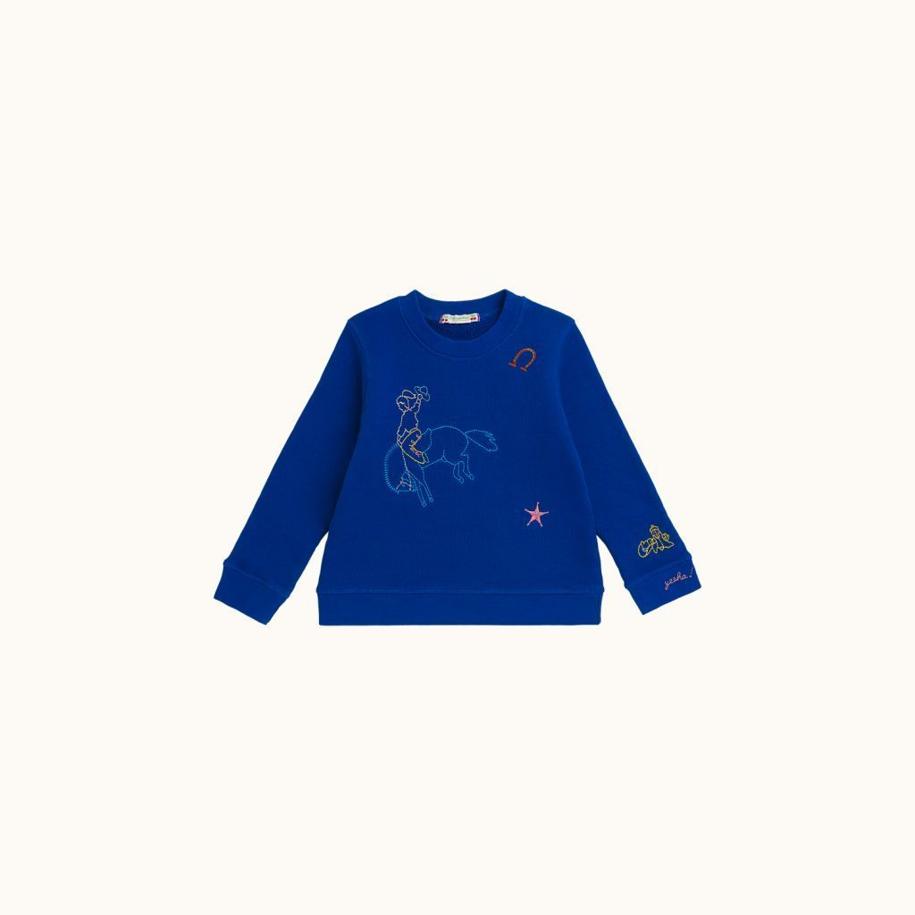 Children's sweatshirt Royal blue