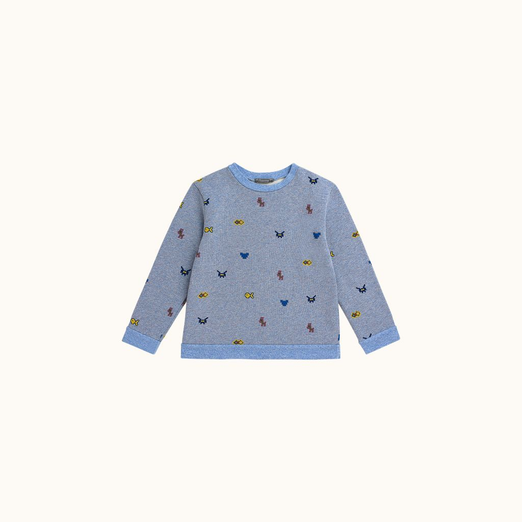 Sweatshirt Sky blue