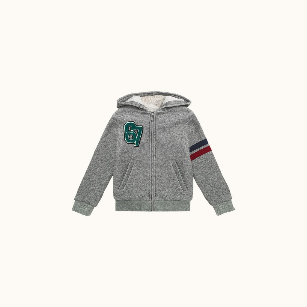 Sweatshirt Gris chine clair