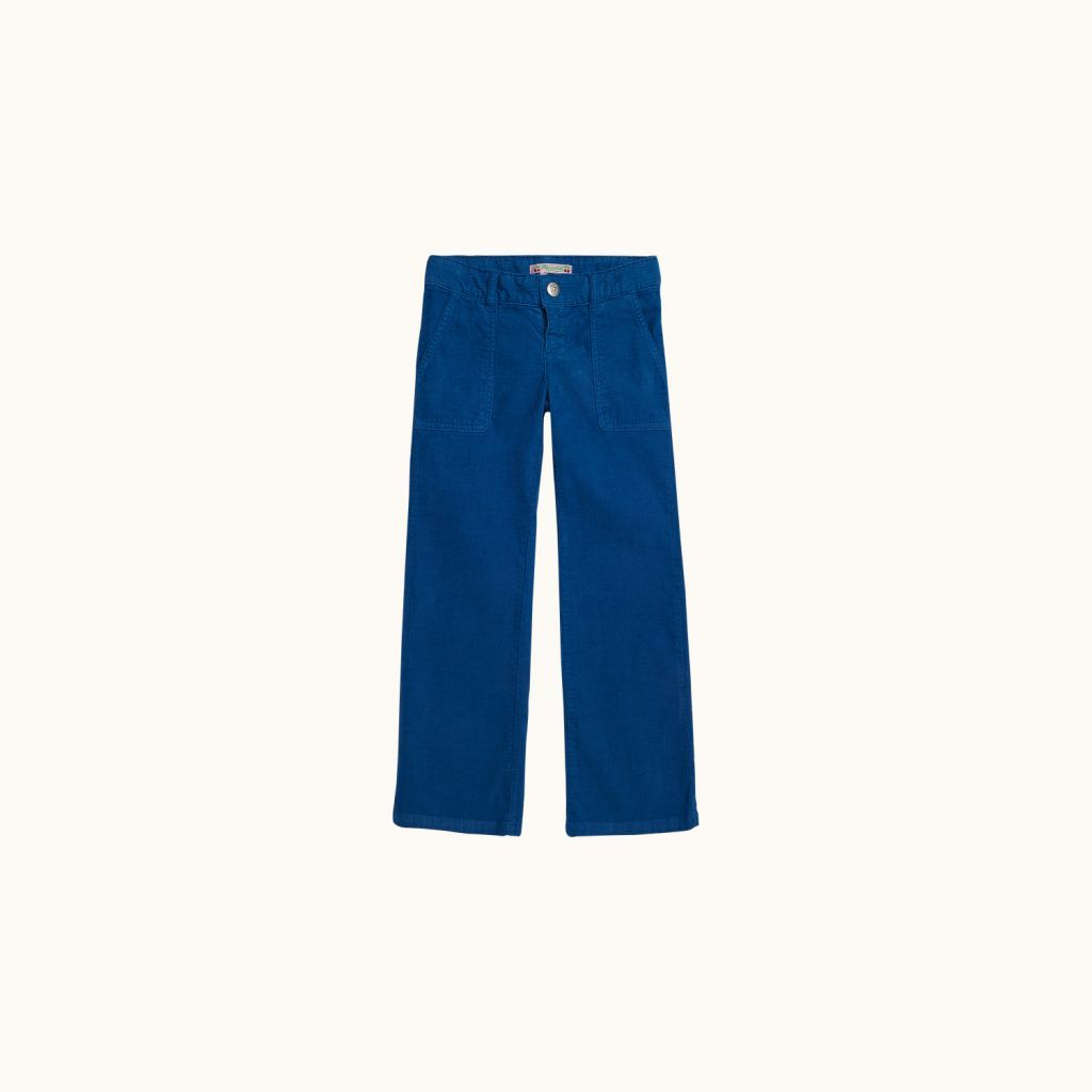 Effilé pants Northern blue