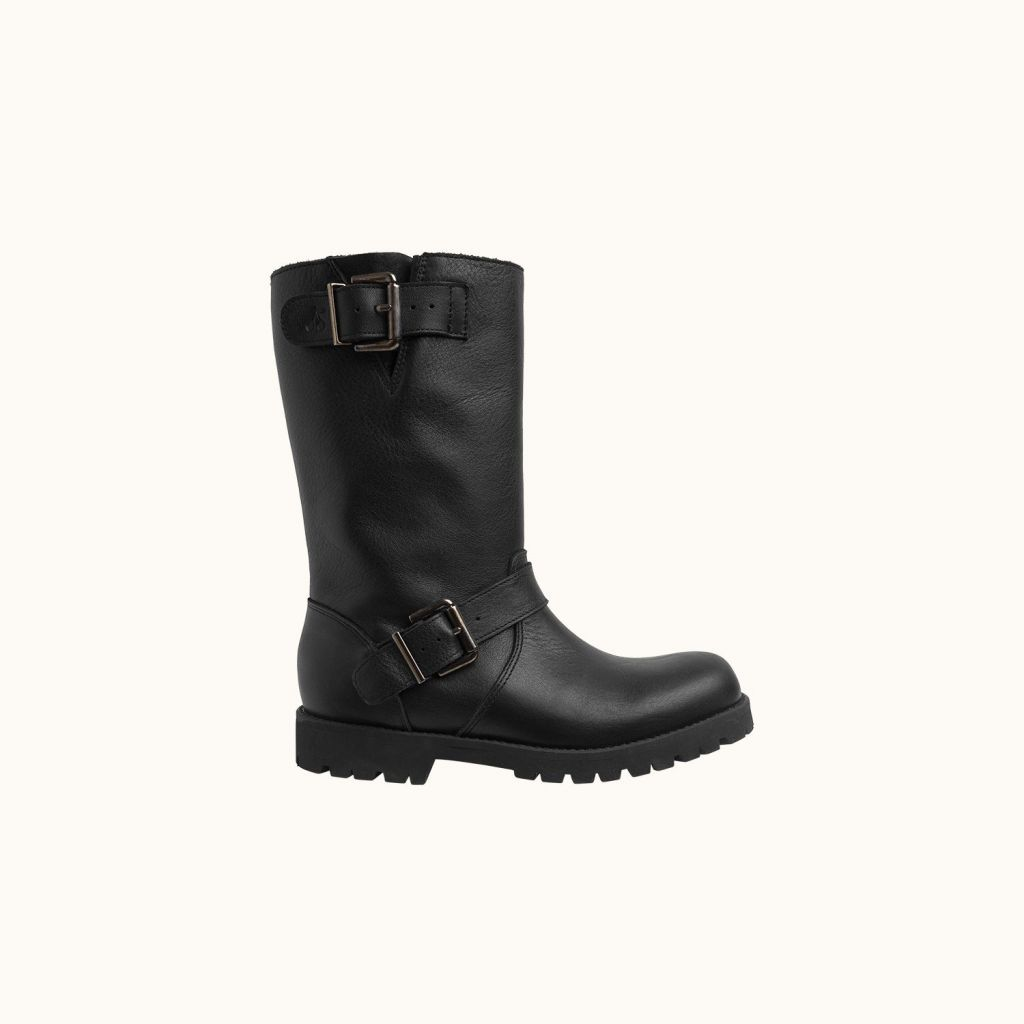 Moto children's boots Black