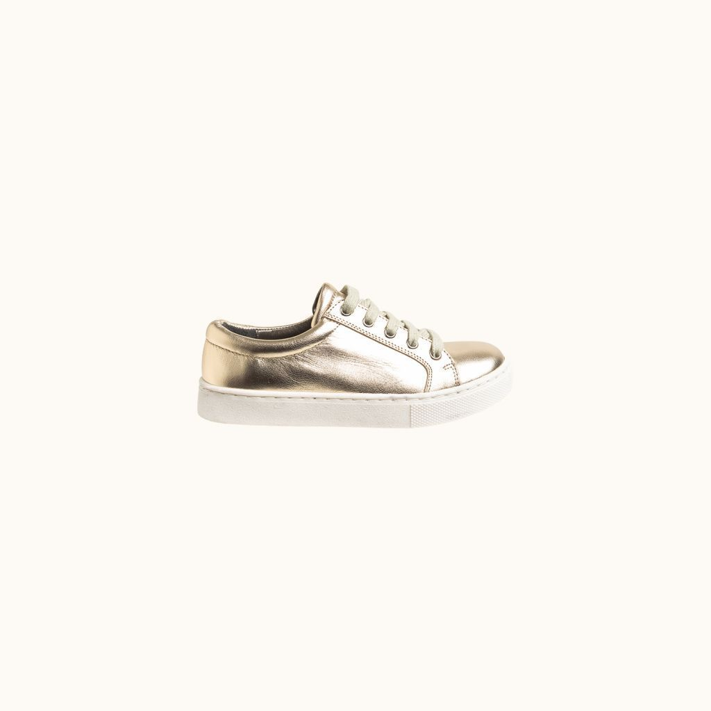 Run low-top sneakers gold
