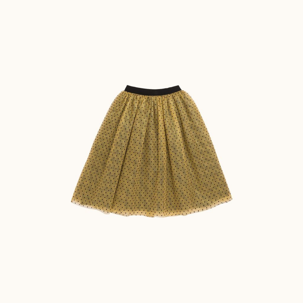 Janice girls' skirt gold