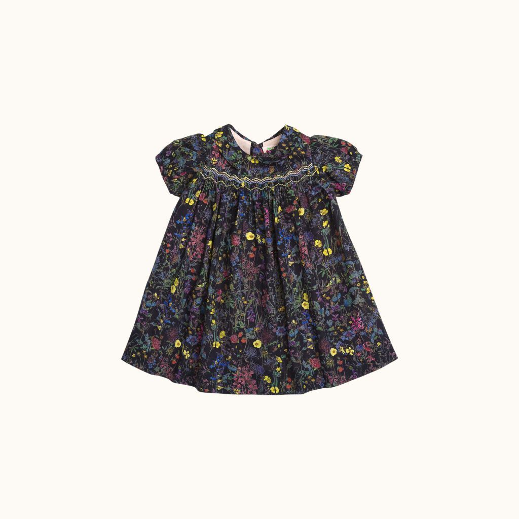 Joyeuse girls' dress Ocean black