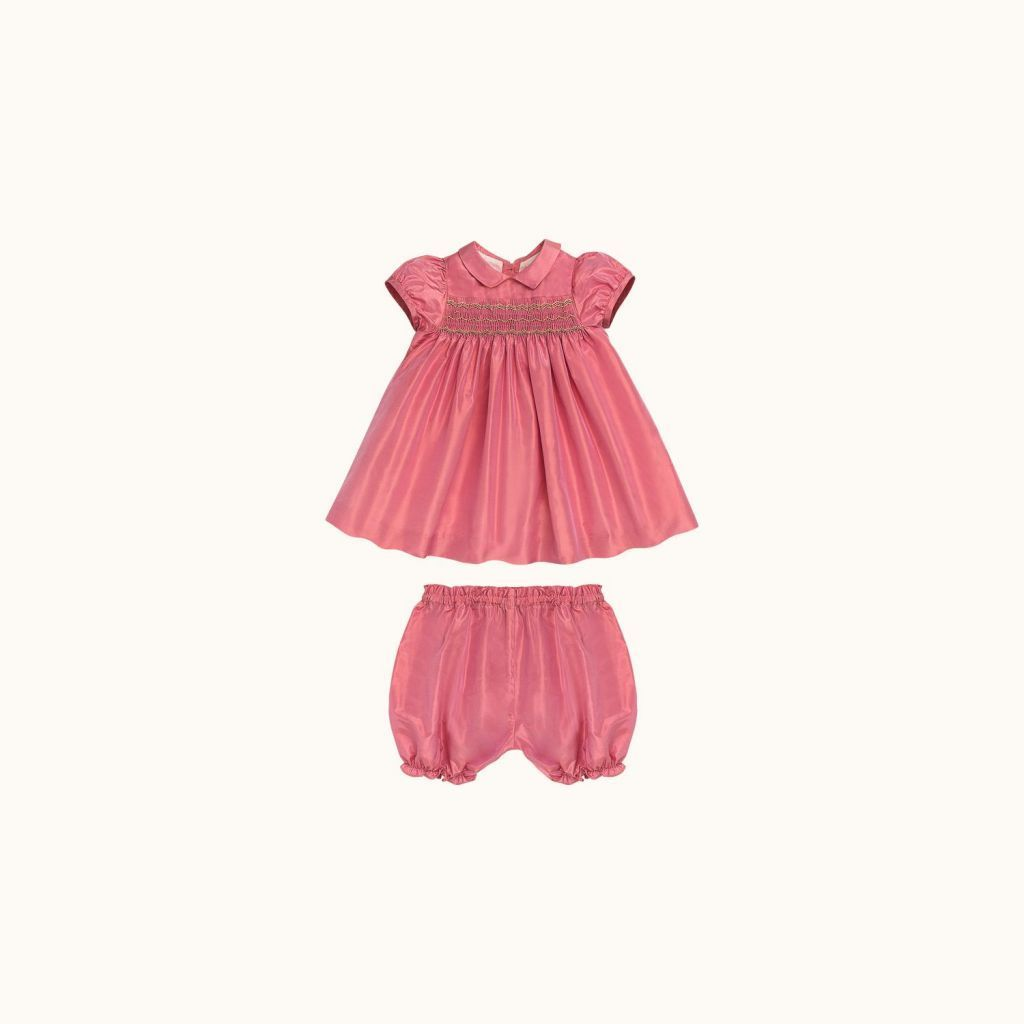 Joyeuse babies' dress Blush pink