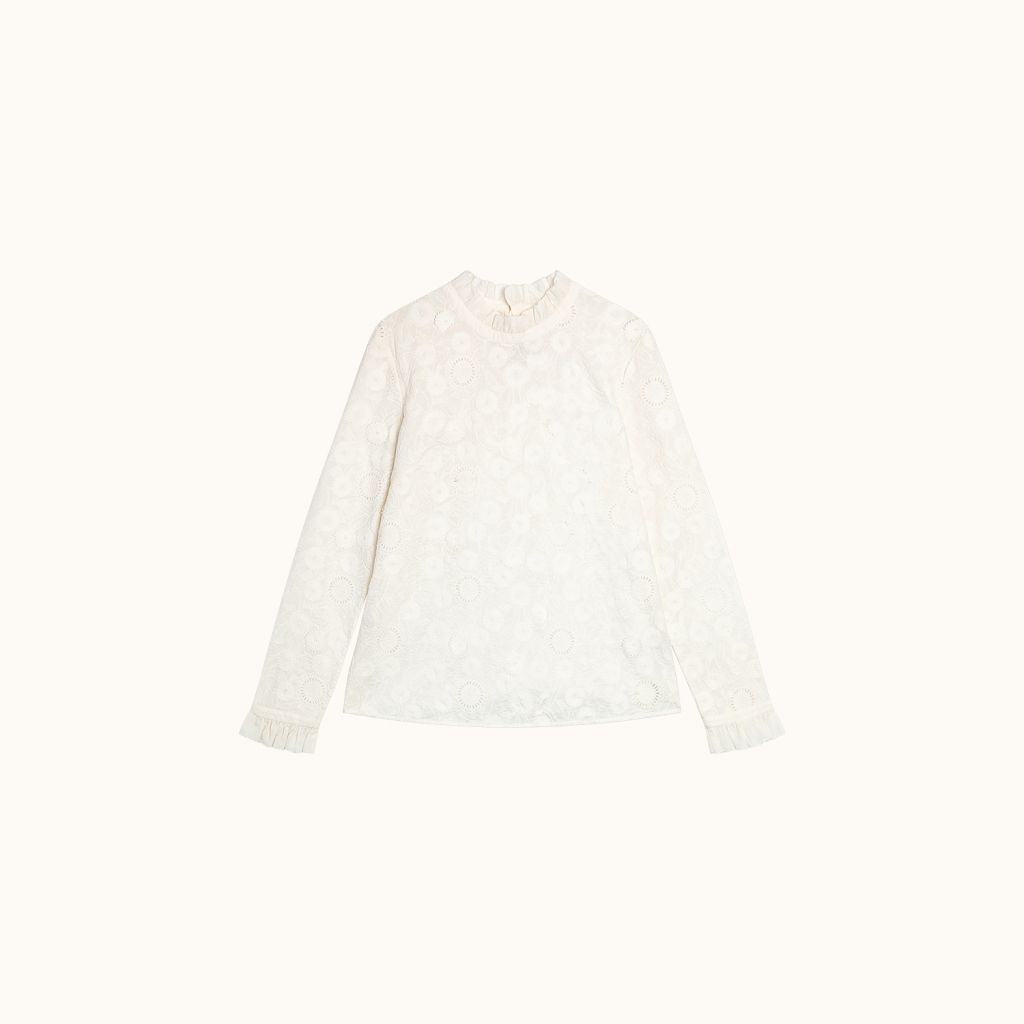 Blouse Joy Blanc lait