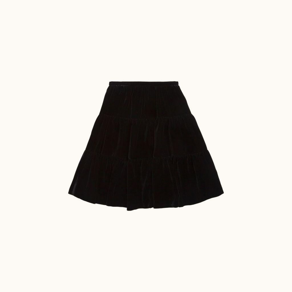 Lise girls' skirt Black