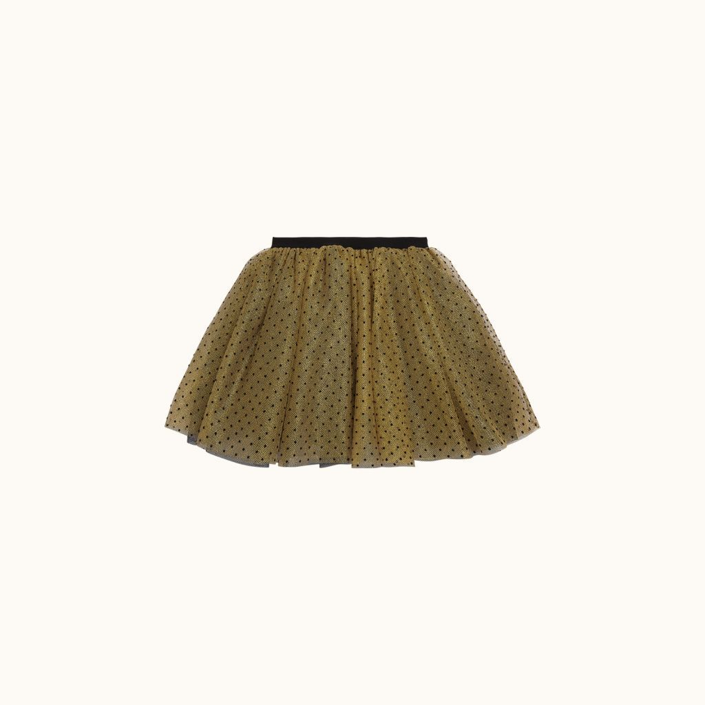 Lucette formal skirt gold