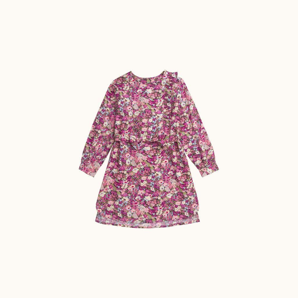 Robe Macy fille lilas
