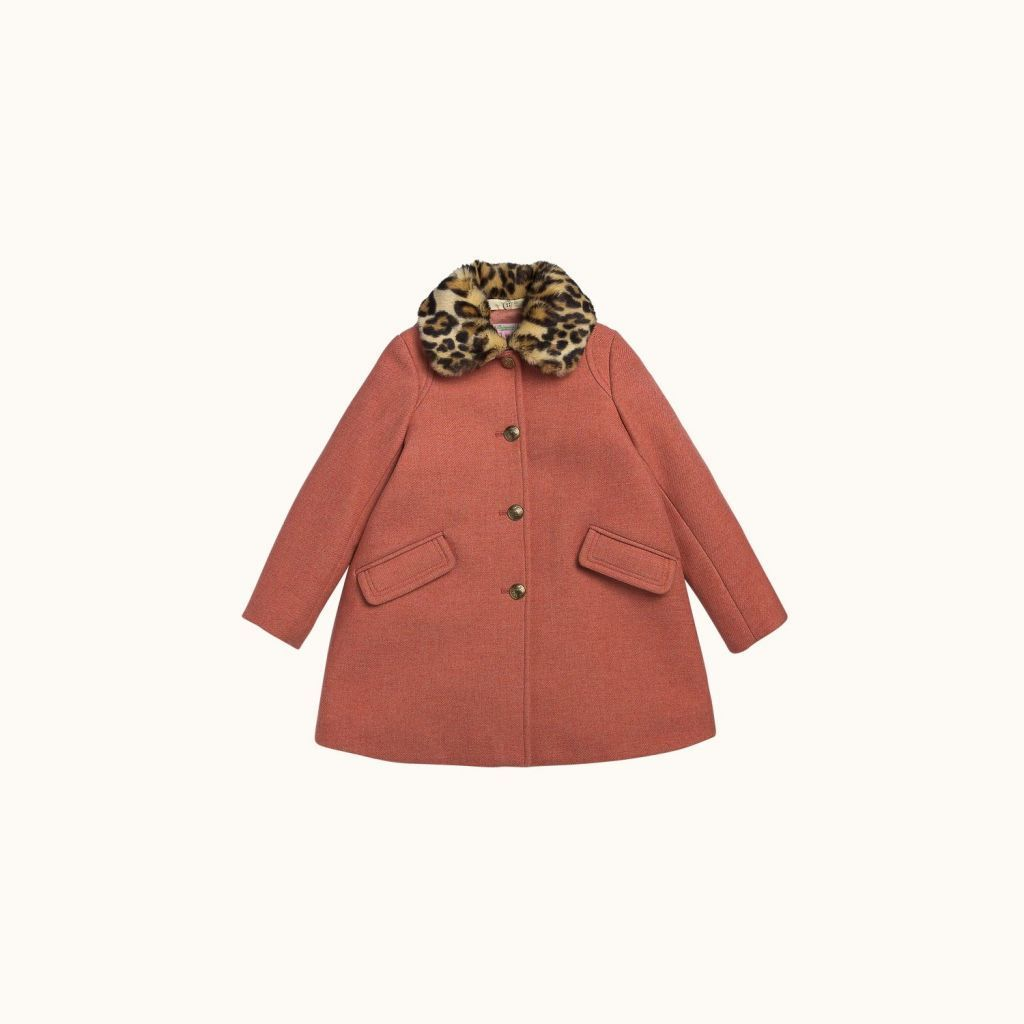 Maggie children's coat Blush pink