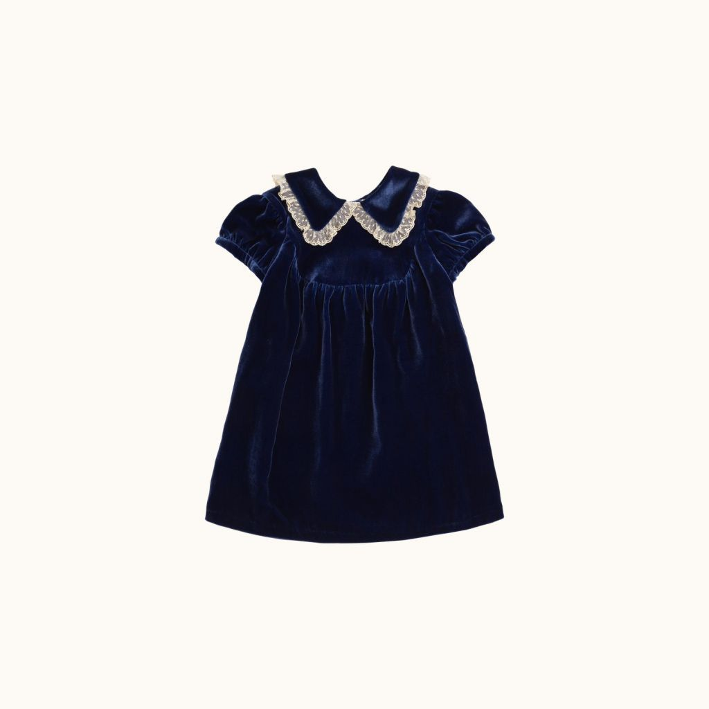 Magie girls' dress midnight blue