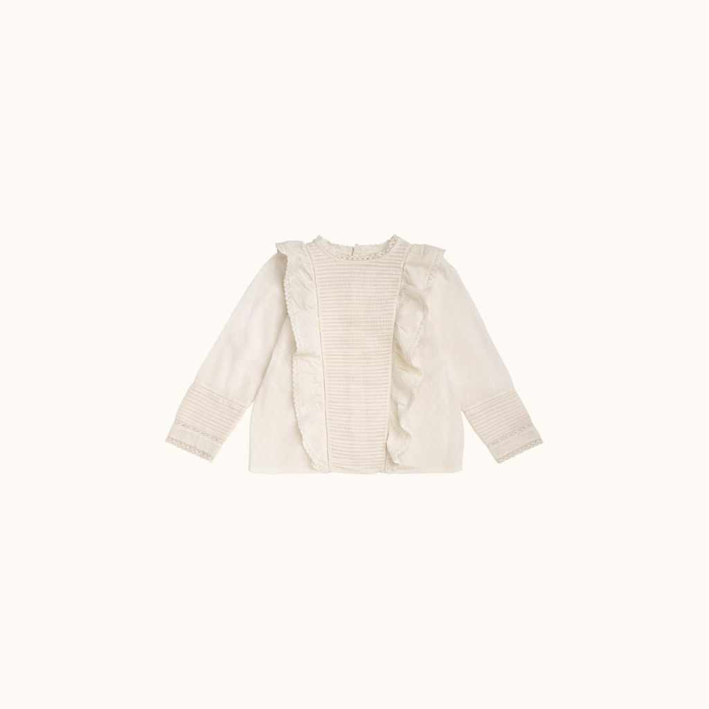Maika blouse milk white