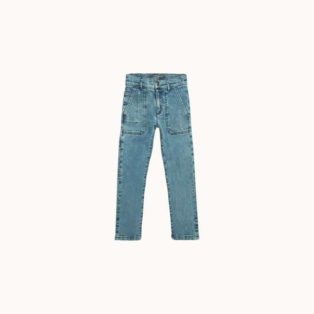 Malone pants Storm blue