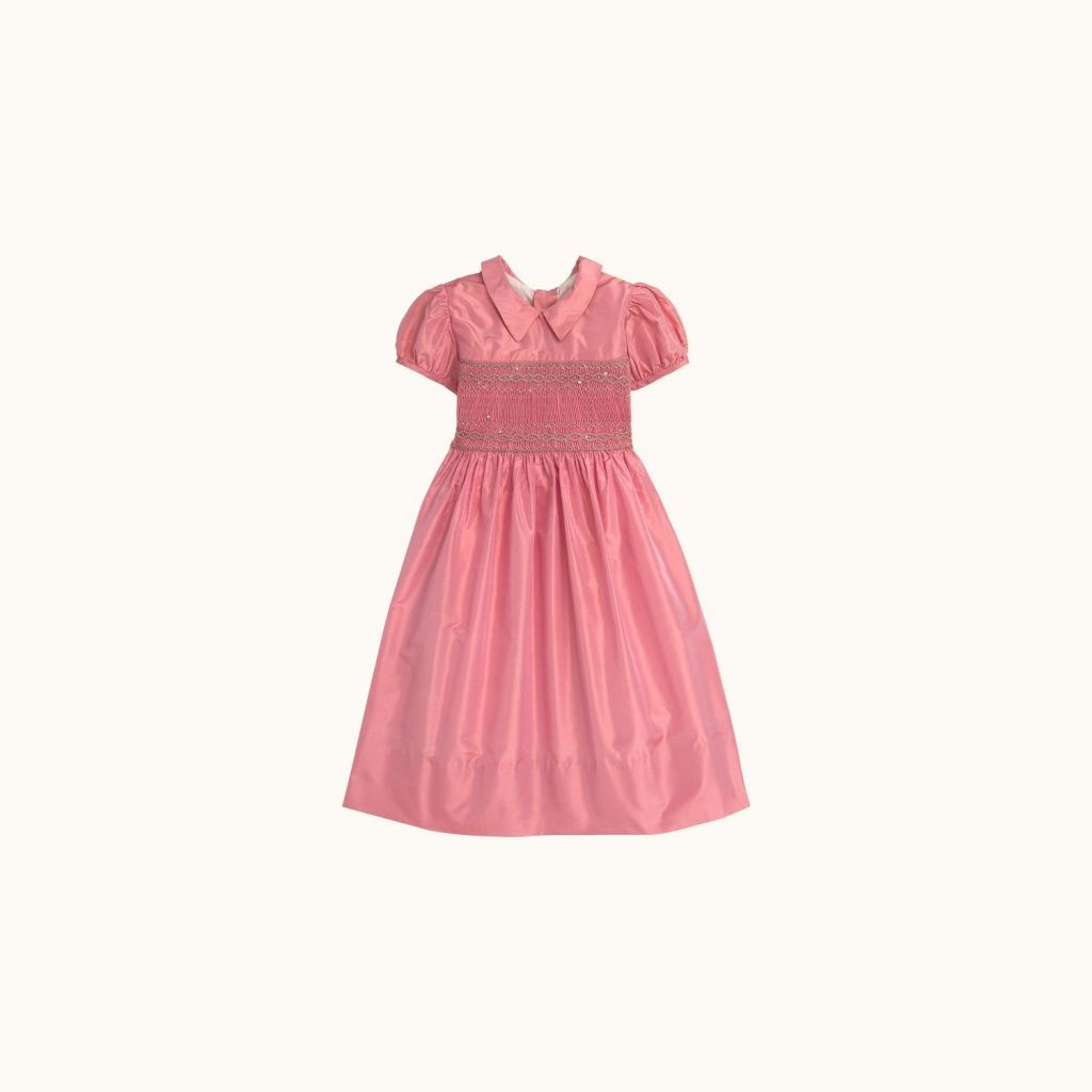 Robe Mandoline enfant fille Rose fard