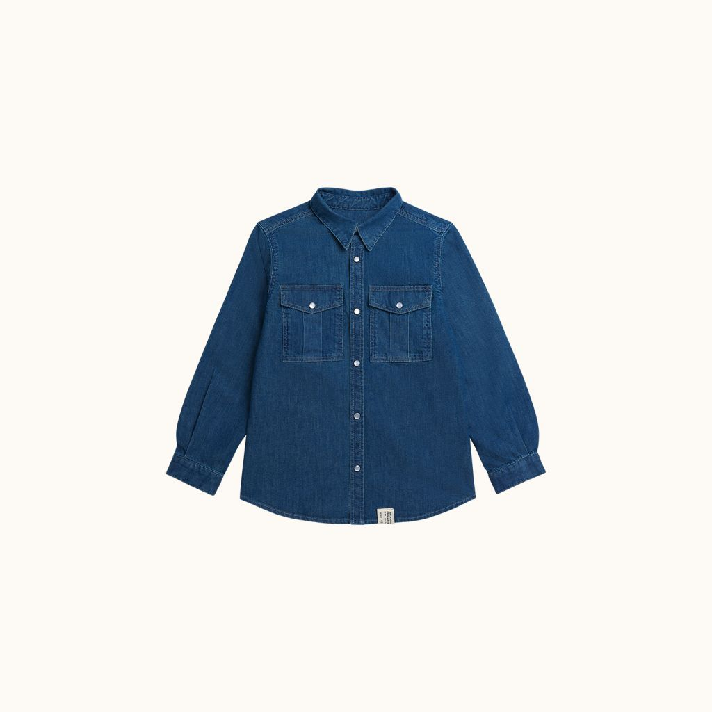 Marius shirt Light denim