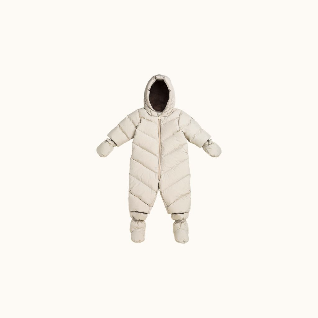 Marmotte snowsuit chalk