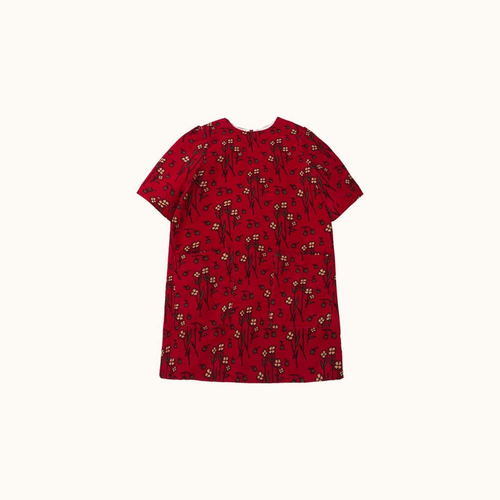 Girls' Maurane dress Red