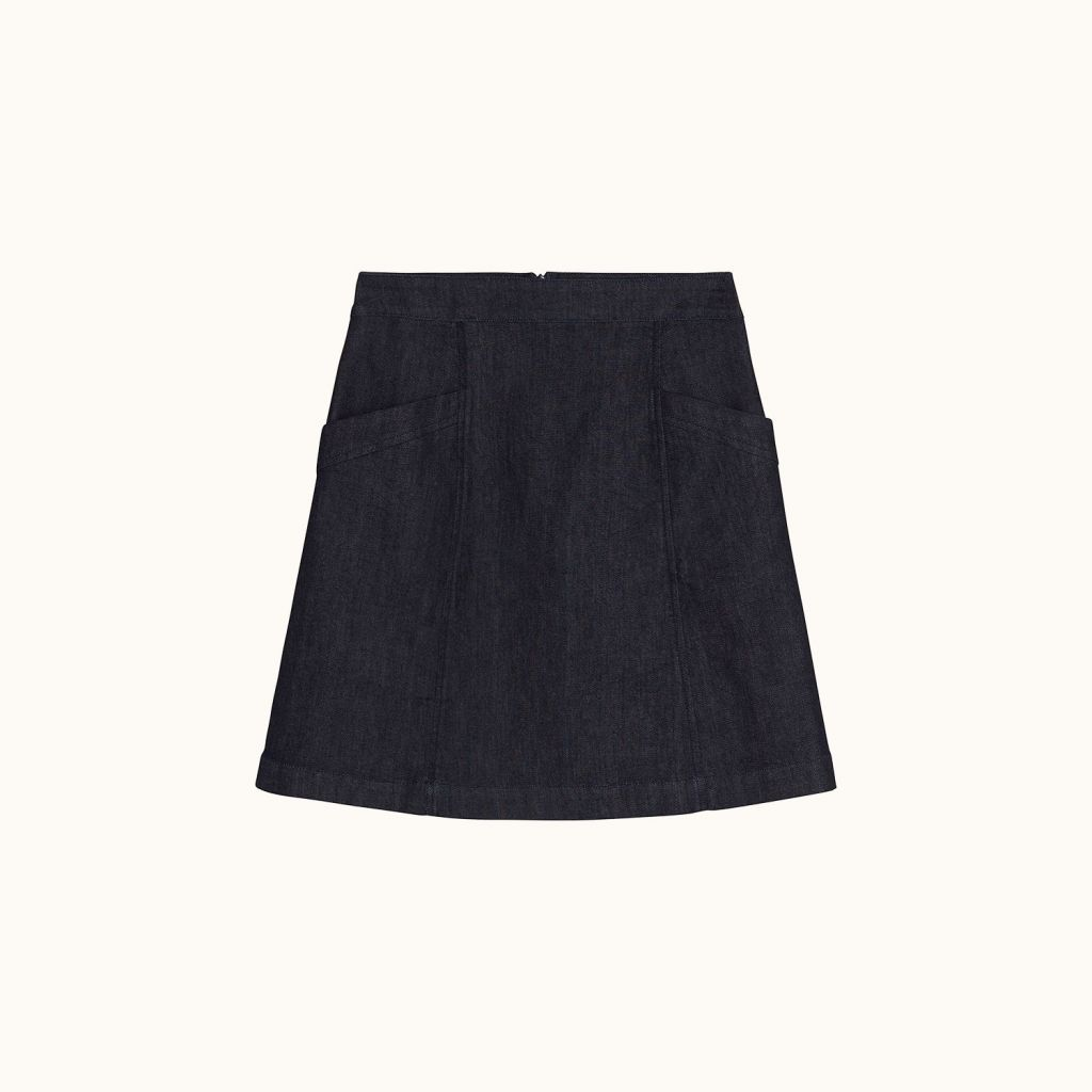 Meg skirt dark denim