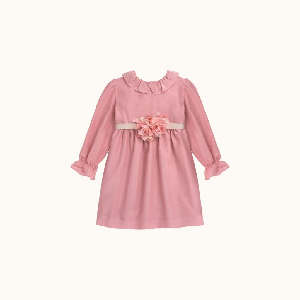 Girls' Milana dress Medium pink
