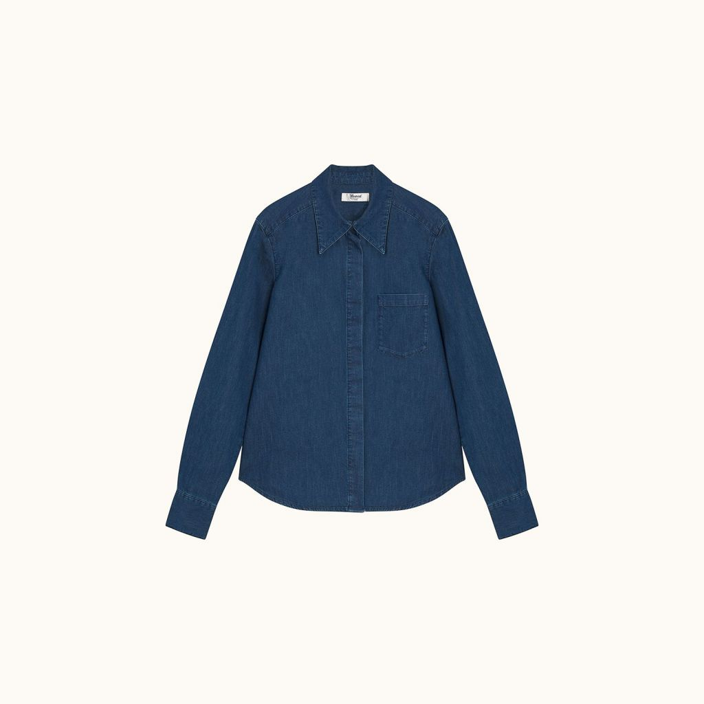 Milane shirt light denim