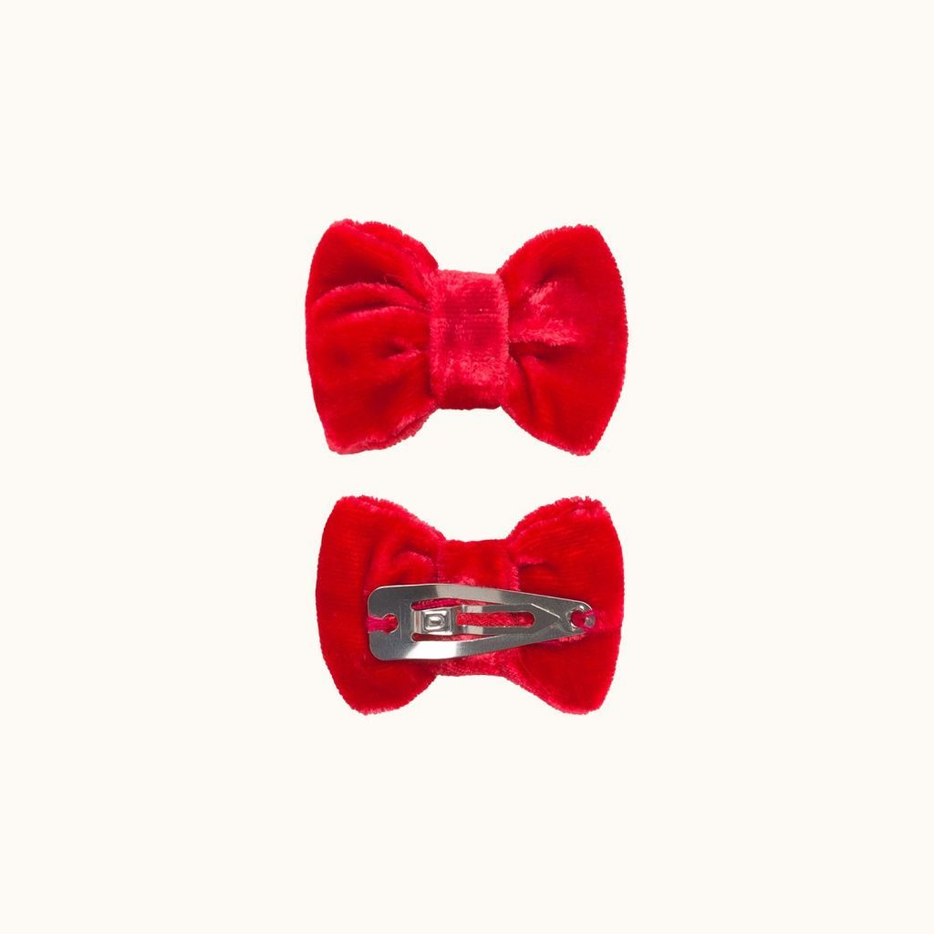 Minichic barrettes red