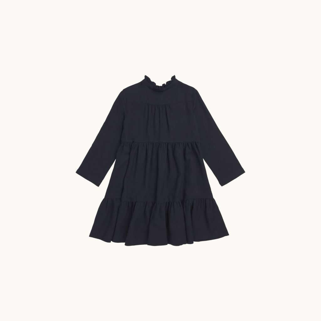 Girls' Miranda dress Navy