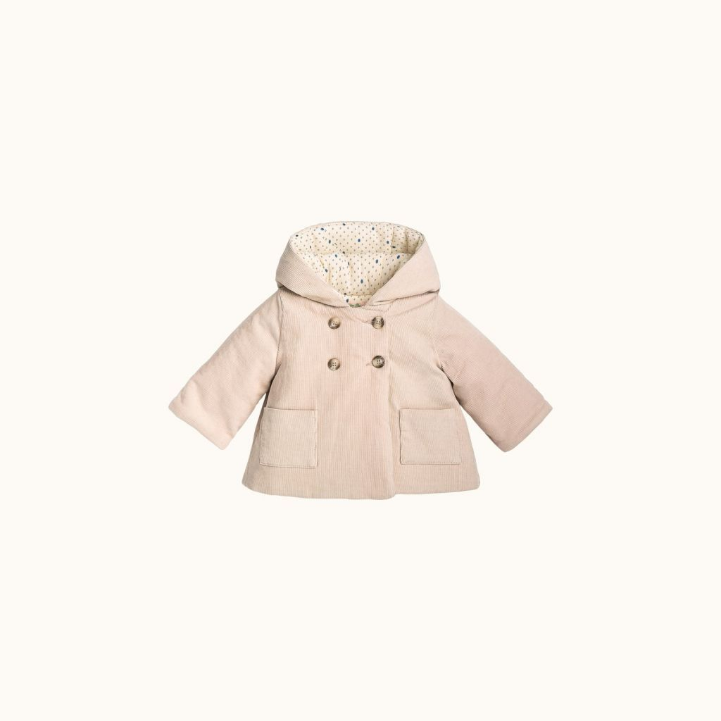 Misha coat Chalk