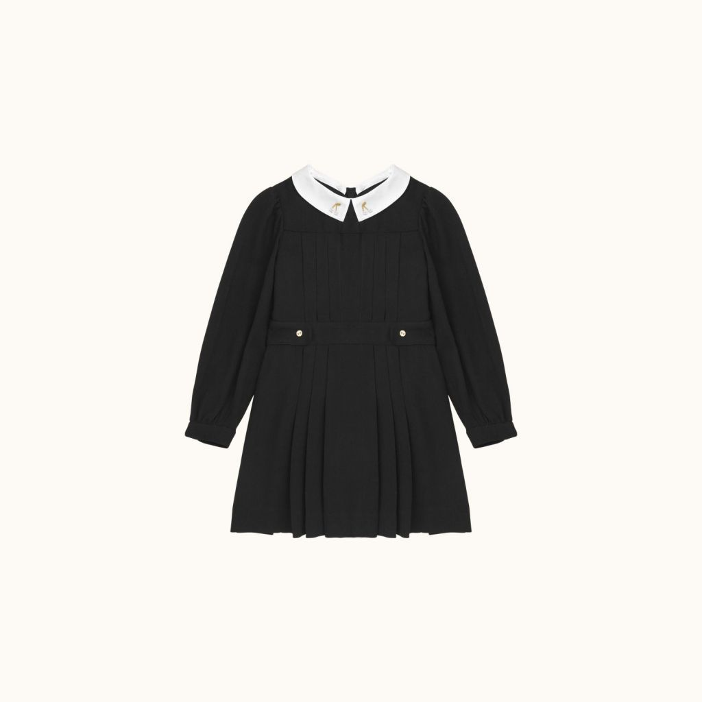 Girls' Mona dress Black