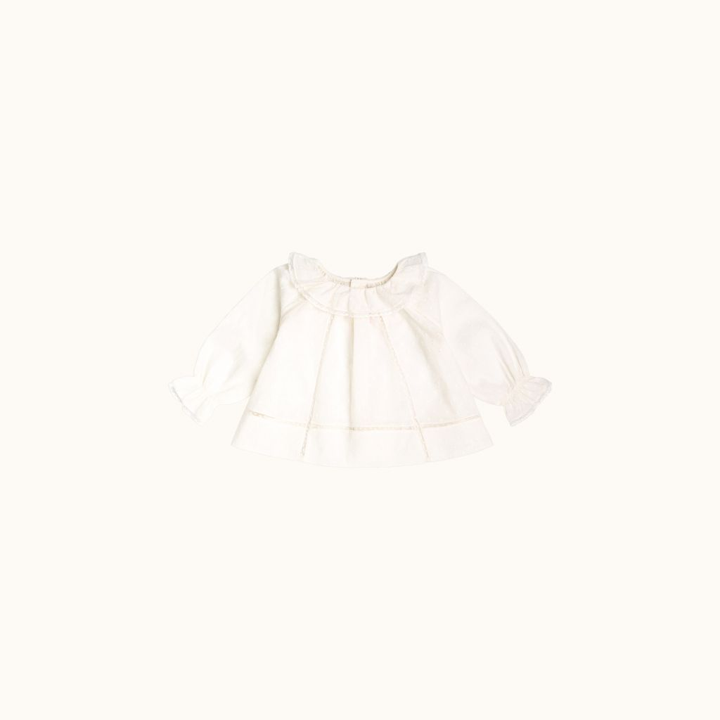 Myrtille blouse Milk white