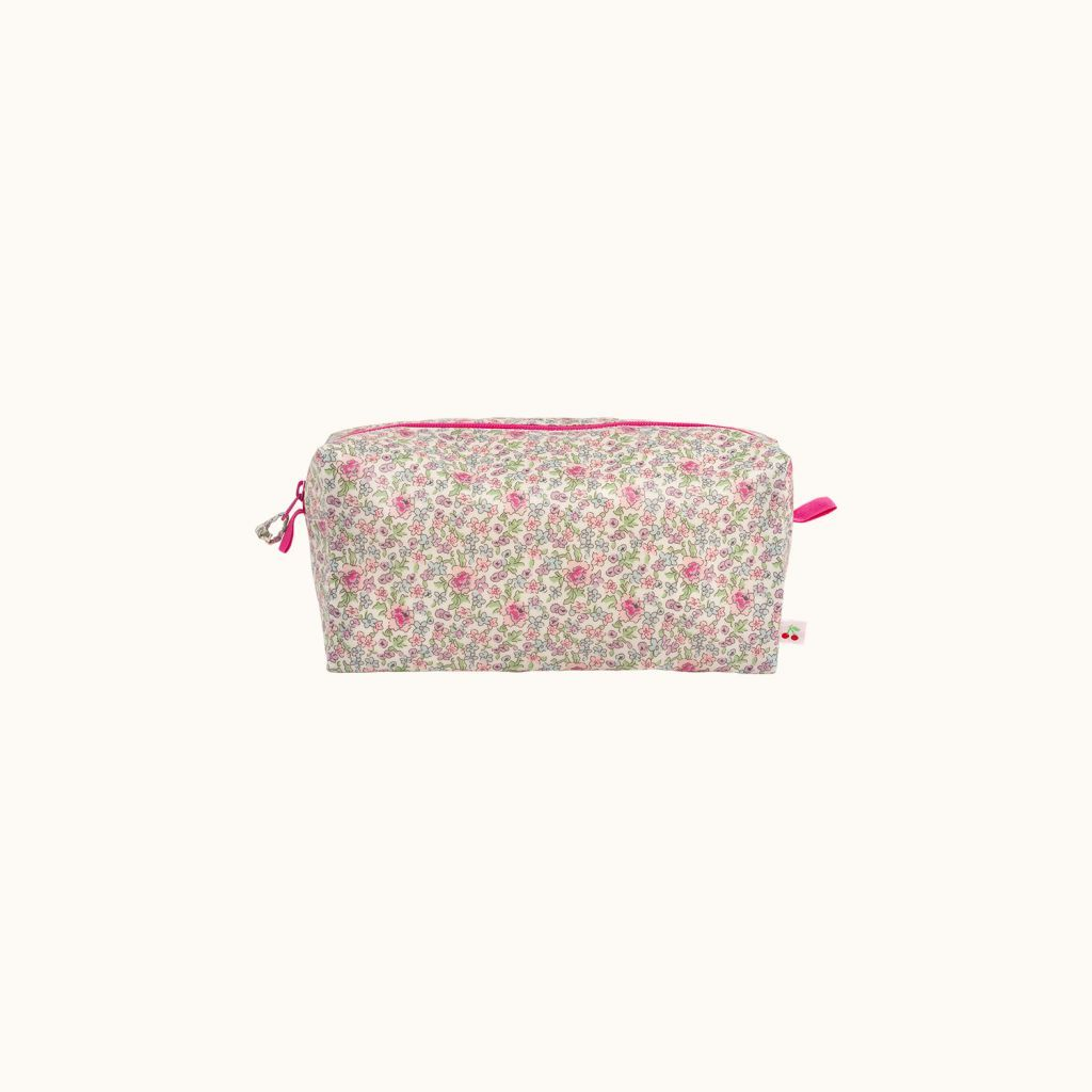 Coated cotton pouch Milk white