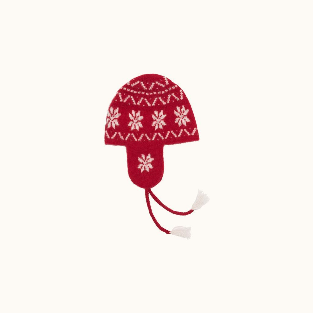 Knit cap red