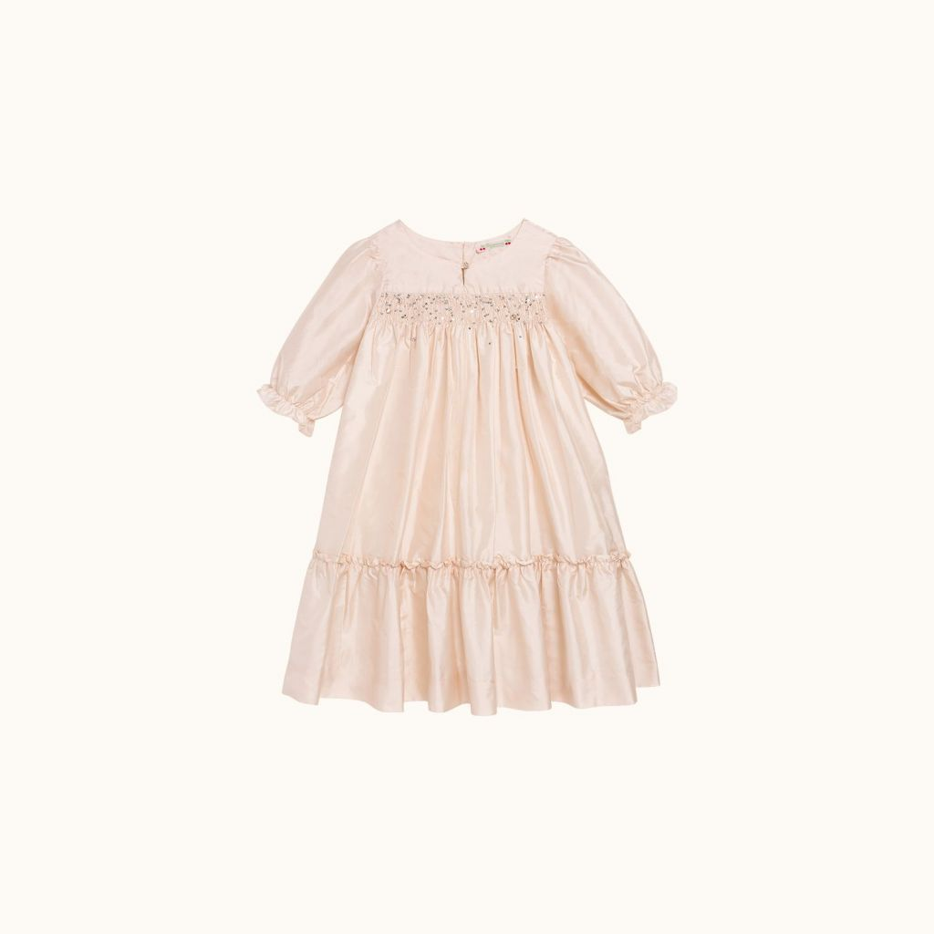 Brillant Fille formal dress pale pink