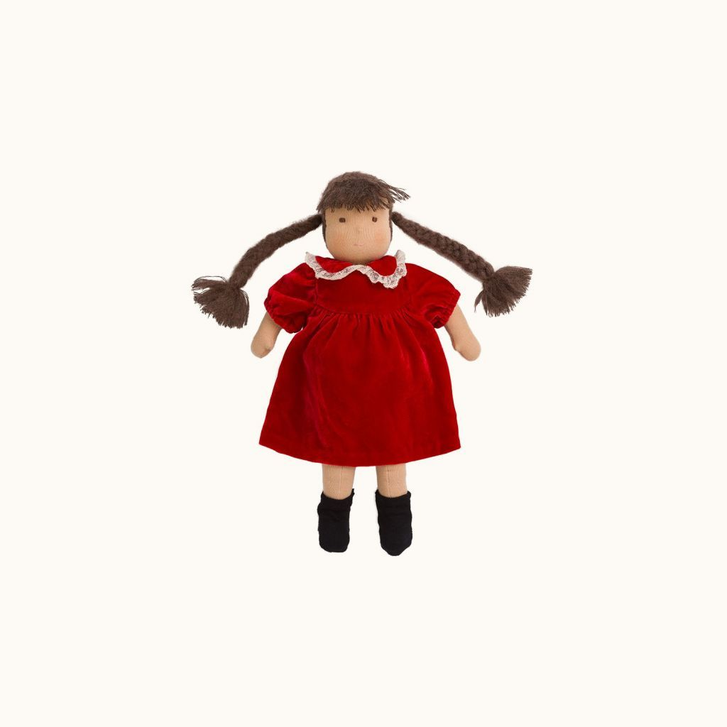 Doll outfit red