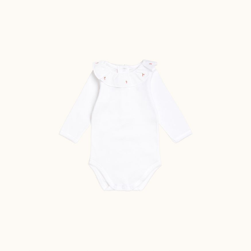 April babies' bodysuit Bubblegum pink