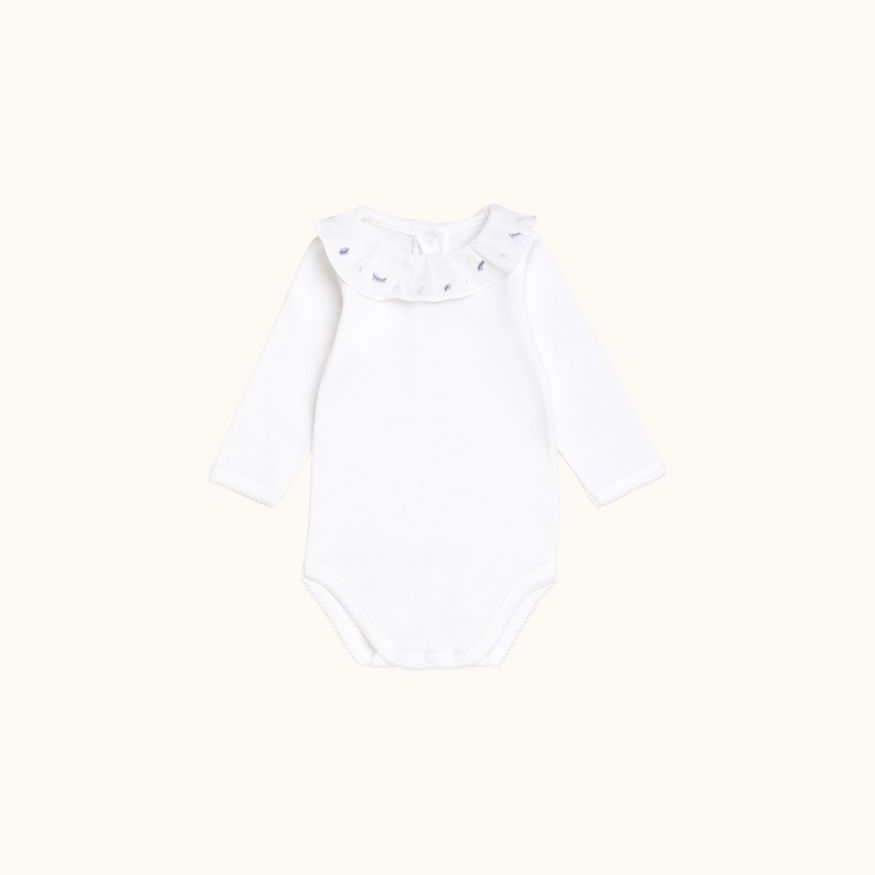 April onesie Pale gray