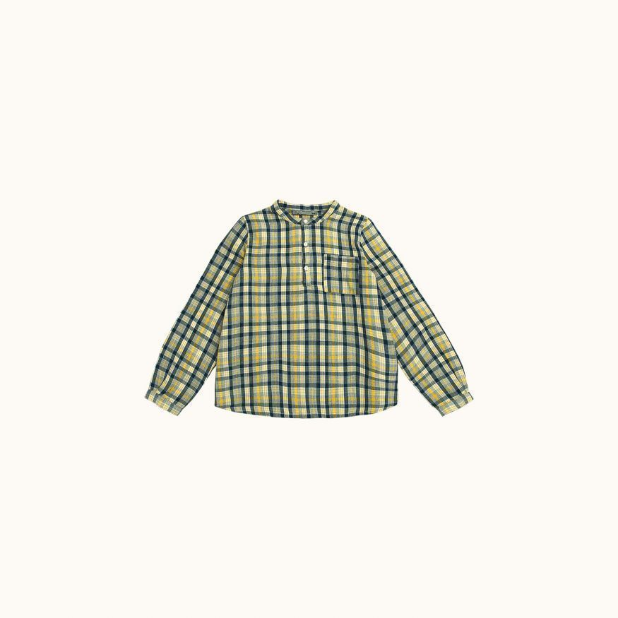 Artiste children's shirt Yellow