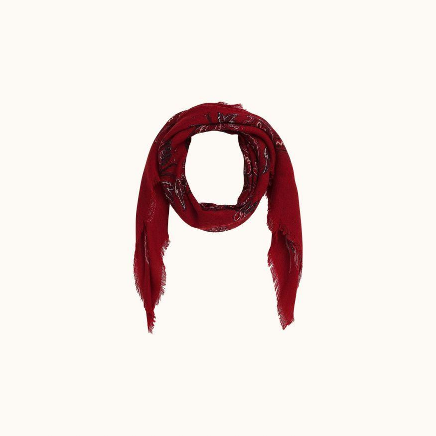 Ban scarf Red