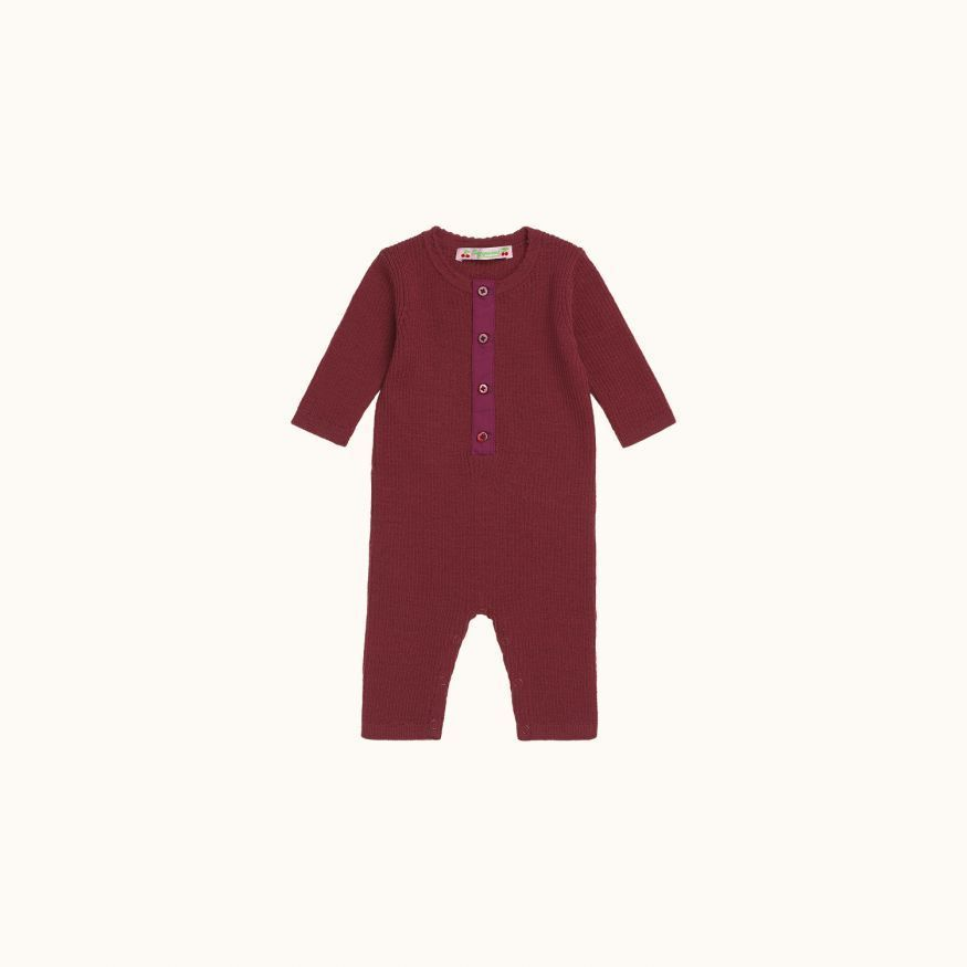 Babies' playsuit Fig