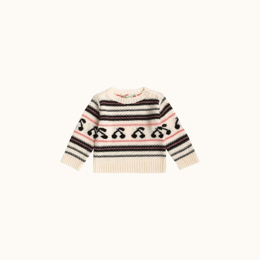 Babies' sweater Ecru