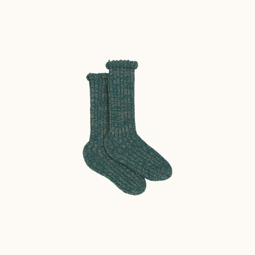Socks British green