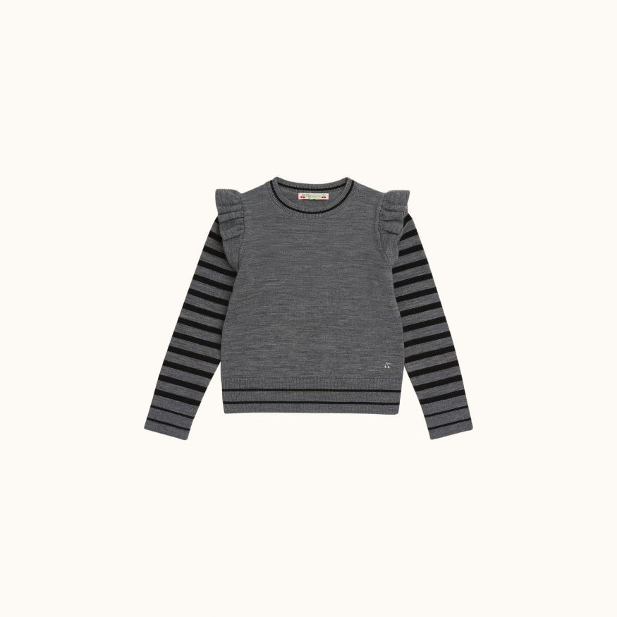 Children's sweater Dark gray