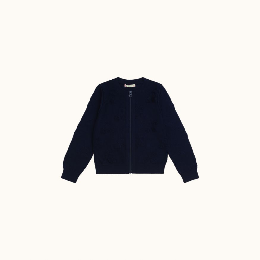 Long-sleeved Cardigan navy